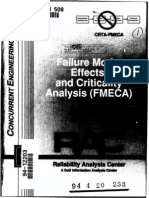 DoD FMECA From Reliability Analysis Center