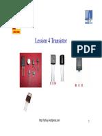 Lession 4 Transistor