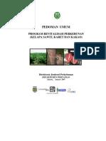 Pedum Program Revitalisasi Perkebunan