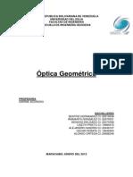Optica Geometrica. (1)