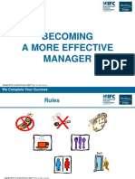 8 - Becoming a More Effective Manager - Slides