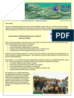 MESOAMERICAN REEF FUND, Update Report September 2013