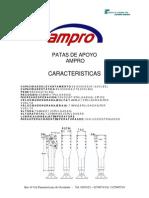 Caracteristicas Ejes y Patas AMPRO