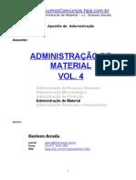 Administração de Material - Administração