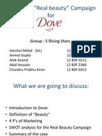 Dove Campaign Ppt