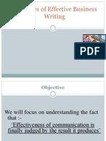 Final Principles of Effective Writing Skills