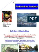 . Stakeholder Analysis of the business firm