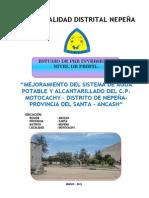 Perfil Agua Alcantarillado MOTOCACHY