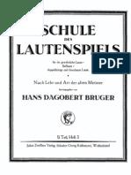 Hans Dagobert Burger • Lautenschule