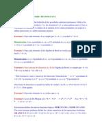 Teoremas Del Algebra de Booleana
