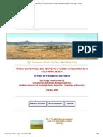 Valle de Ojos Negros, Baja California, Mexico, Manejo Sustentable Del Agua, Victor Miguel Ponce