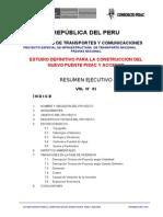 Resumen Ejecutivo Puente Pisac
