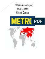 Accounting Presentation Metro AG