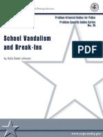 School Vandalism and Break-Ins