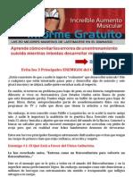 Evita Los 3 Enemigos del Culturismo | Fisico Culturismo # Revistas # Suplementos