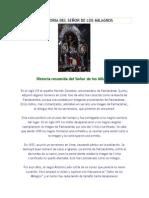 LA HISTORIA DEL SEÑOR DE LOS MILAGROS