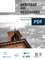 UNISDR and Resilience Book for GP2013 Disaster Management - HERITAGE and RESILIENCE