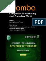 Portfolio dJomba - Campanha de Marketing Viral Para o Sporting Clube de Portugal