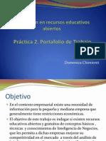 Práctica 2 - Portafolio de Trabajo
