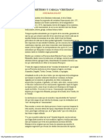 Hermetismo & Cábala Cristiana - José Maria Dolcet