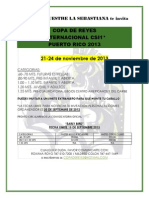 Oferta Early Bird Copa de Reyes 2013
