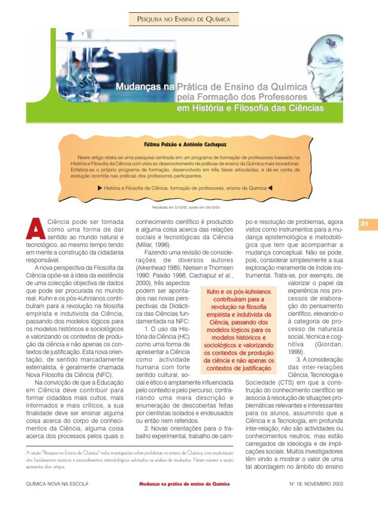 4b08a7b1b9a Mudança nas práticas de ensino de química pela formação de profs em História  e Filosofia das ciências - A07