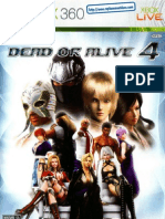 Dead or Alive 4 - Manual - 360