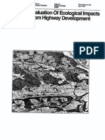 Ecological Impacts Highway Development Pg NEPA USA