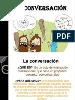 LA CONVERSACIÓN -PPT