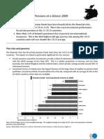 Irish Pensions Crisis OECD June 2009