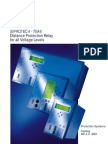 7SA6 Distance Protection Relay for All Voltage Levels