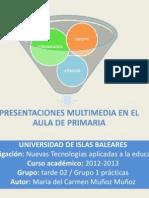Presentaciones Multimedia Aula Primaria