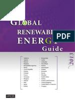 Global Renewable Energy Guide 2013