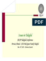 Issues in Takaful by Pervaiz Ahmed