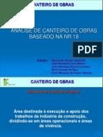 APRESENTAÇÃO CANTEIRO DE OBRAS