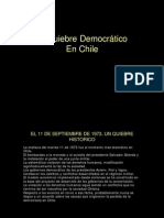 El Quiebre Democrático en Chile