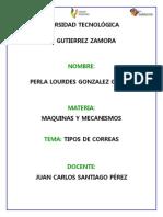 Tipos de Correas