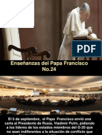 Enseñanzas Papa Francisco - Nº 24