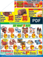Friedman's Freshmarkets - Weekly Ad - September 26 - October 2, 2013