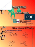 Strc Effcts, Acid Bases