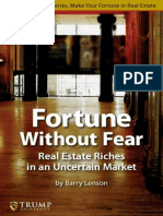 donald trump - fortune without fear real estate riches