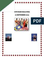 Cuti Hari Malaysia
