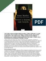 Azar Nafisi - Stvari o Kojima Sam Cutala