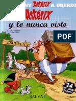 32 Asterix y Lo Nunca Visto