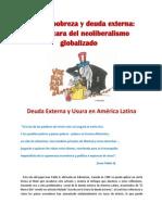 Usura, pobreza y deuda externa