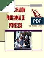 Admon. Profesional de Proyectos