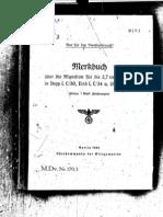 M.Dv.170- 3 Merkbuch über die Munition für die 3,7 cm S.K. C30 in Dopp L C30, Einh L C34 u. Ubts L C39 - 1944
