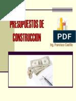 Formulacion de Presup. de Construcc