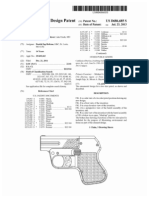 Two shot pistol (US patent D686685)