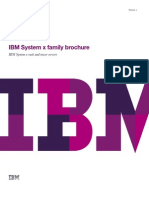 IBM System x Family Brochure